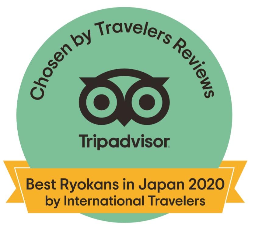 Hinodeya has been ranked the No.1 Ryokan.